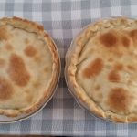 Pastel di karni Pie with minced meat