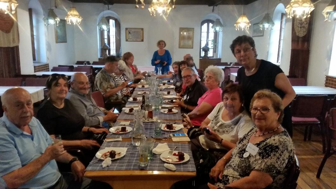 Sephardic dinner Guests from USA
