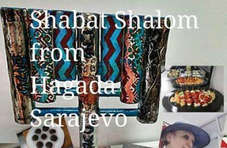 Shabat Shalom from Hagada Sarajevo