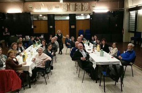 Dinner Jewish at a community